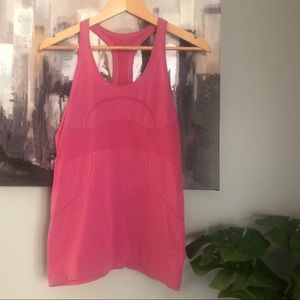 Lululemon Pink Running Top